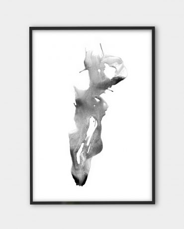Yiannis Karavelis, inkographie 7 | Black white art prints from monoqrome.co