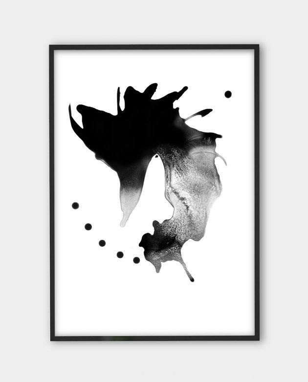 Yiannis Karavelis, inkographie 1 | Black white art prints from monoqrome.co