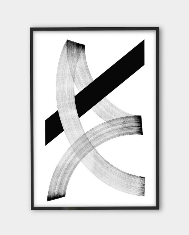Blaqk, Form 3 | Black white art prints from monoqrome.co