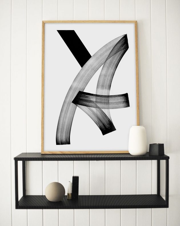 Scandi decor - art print from monoqrome.co