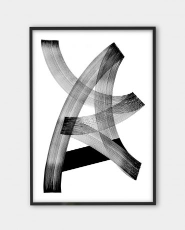 Blaqk, Form 4 | Black white art prints from monoqrome.co