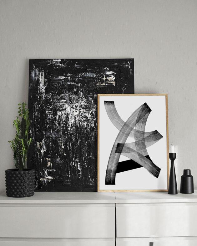 Blaqk, Limited Art Print Form 4 | Monoqrome.co