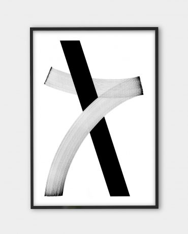 Blaqk, Form 5 | Black white art prints from monoqrome.co