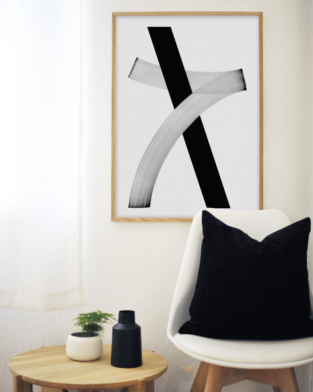 Nordic minimalism - art print from monoqrome.co
