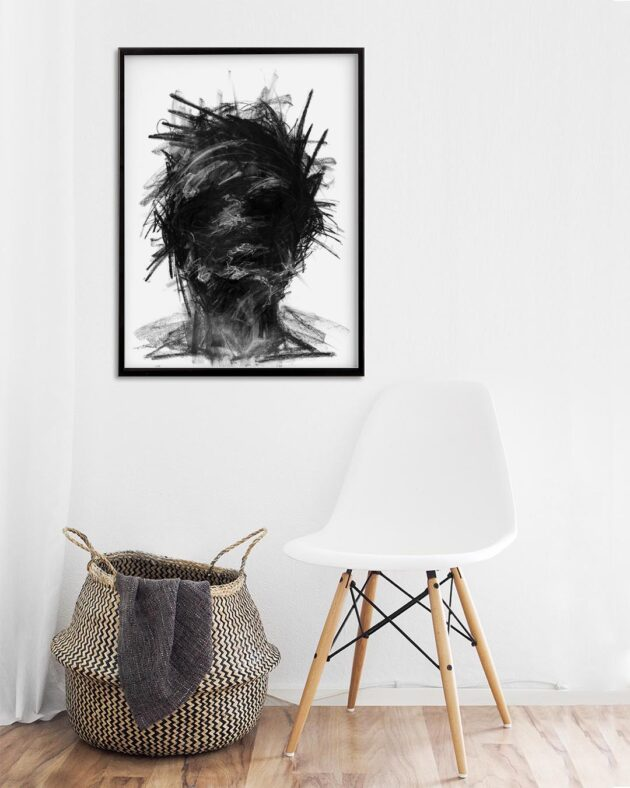 George Androutsos - Limited Print, Face 2 - MONOQROME.CO