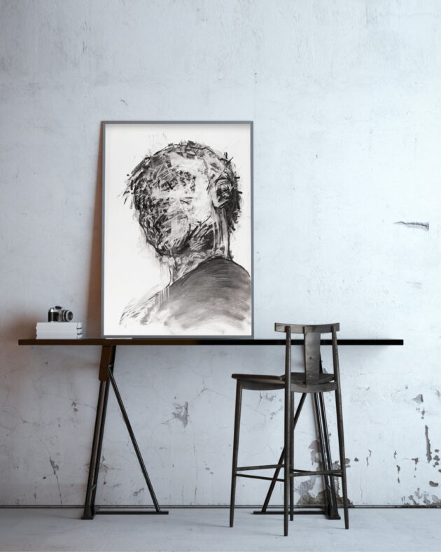 George Androutsos - Limited Print, Face3 - MONOQROME.CO