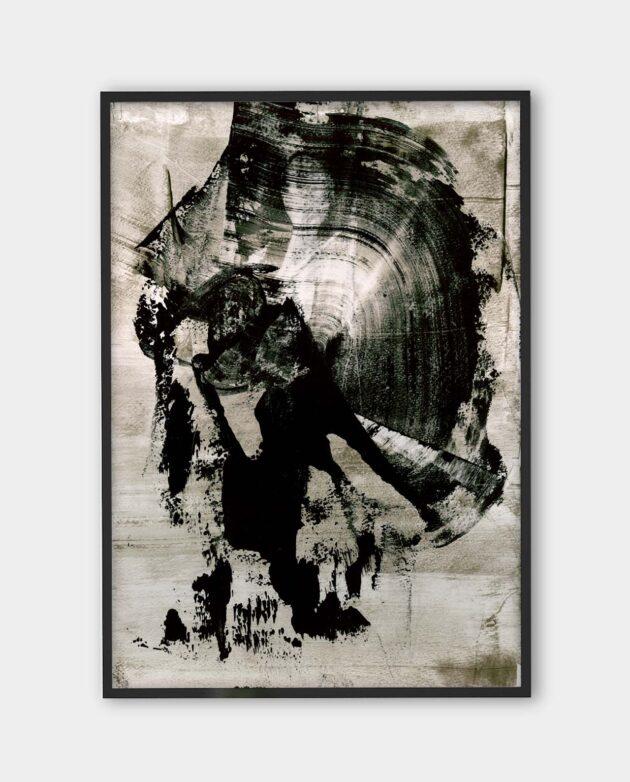 Luca Brandi - The sound of fury 4 - art print - MONOQROME.CO