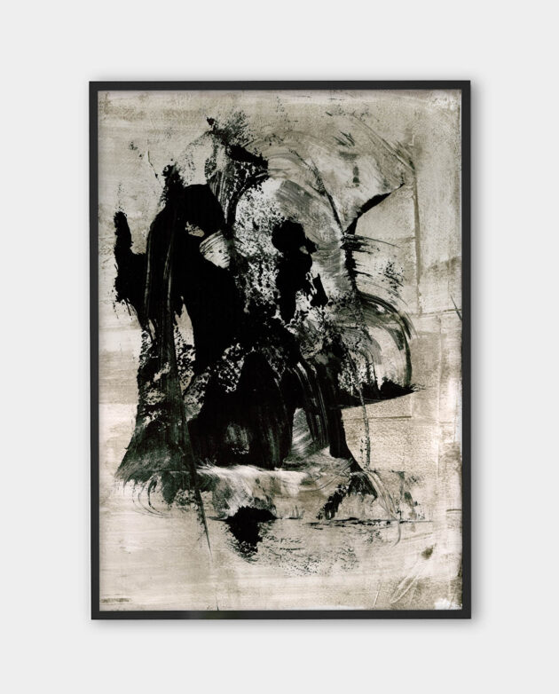 Luca Brandi - The sound of fury 6 - art print