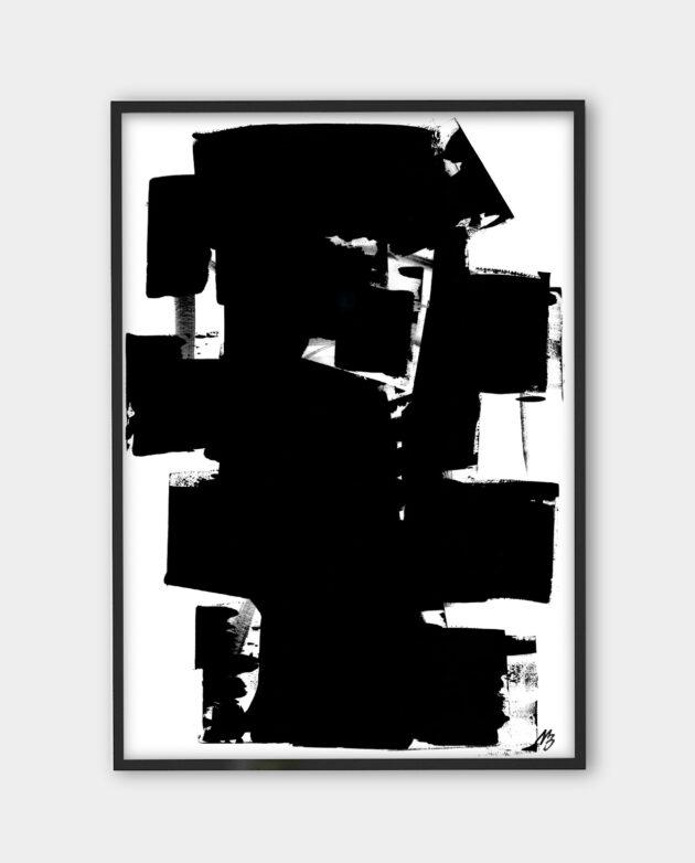 Malene Birger - My Stroke - art print